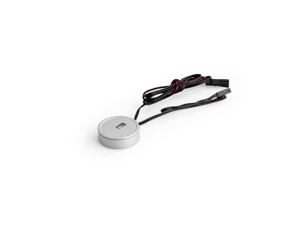 Kleurwissel LED Touch schakelaar en dimmer, Sensorschakelaar, roestvrij staalkleurig