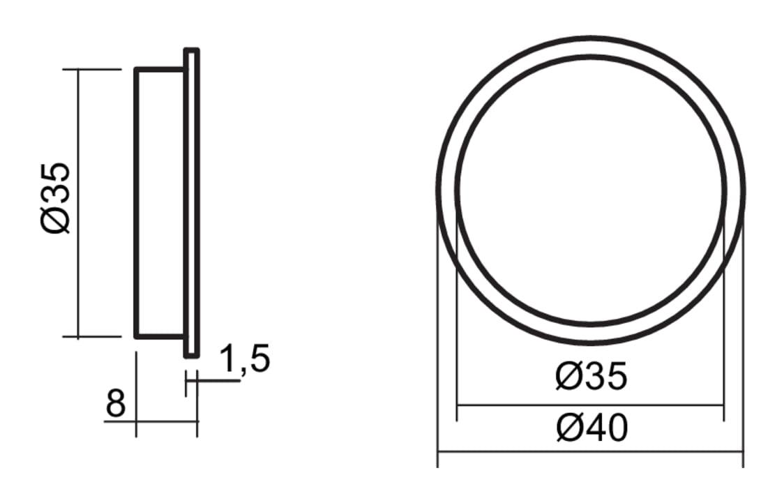 Kleurwissel LED Touch schakelaar en dimmer, Sensorschakelaar., roestvrij staalkleurig