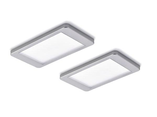 Hull kleurwissel LED, Onderbouw-/nislamp, set-2