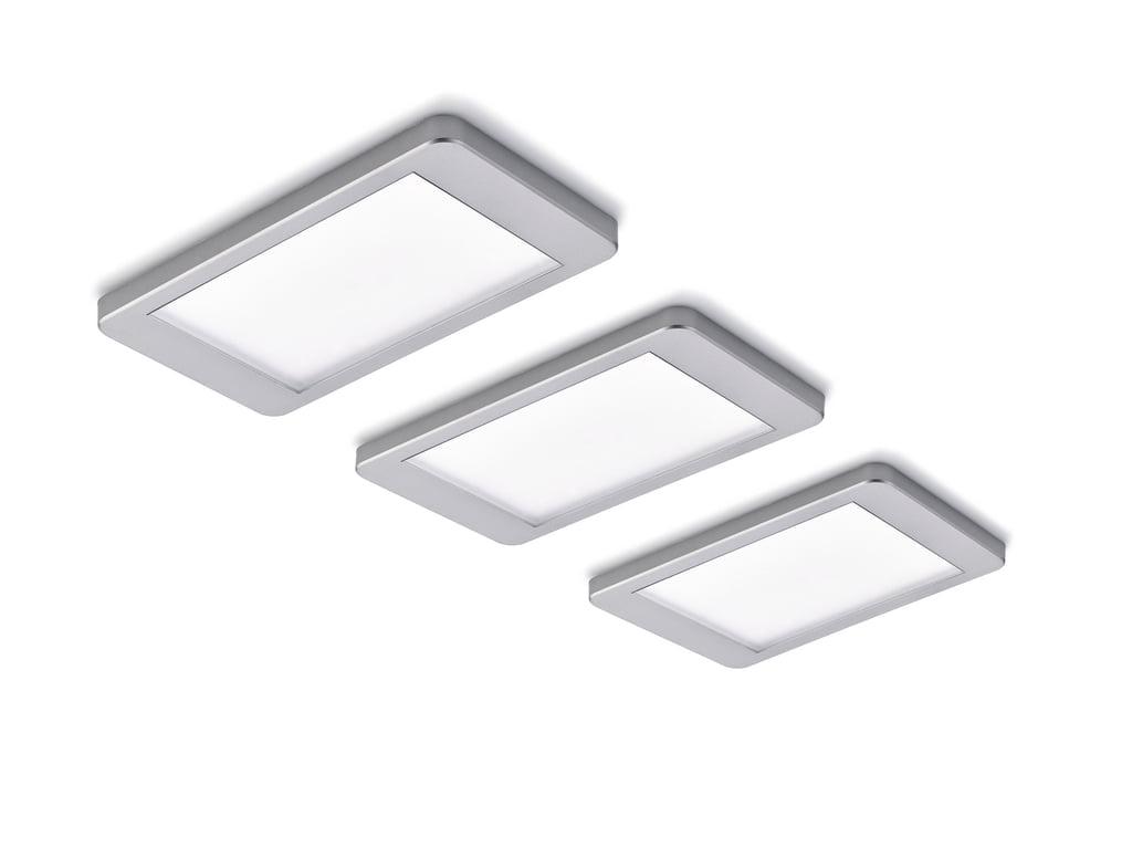 Hull kleurwissel LED, Onderbouw-/nislamp, set-3