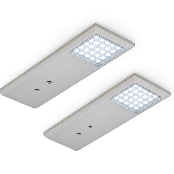 Intorno L kleurwissel LED, Onderbouw-/nislamp, set-2