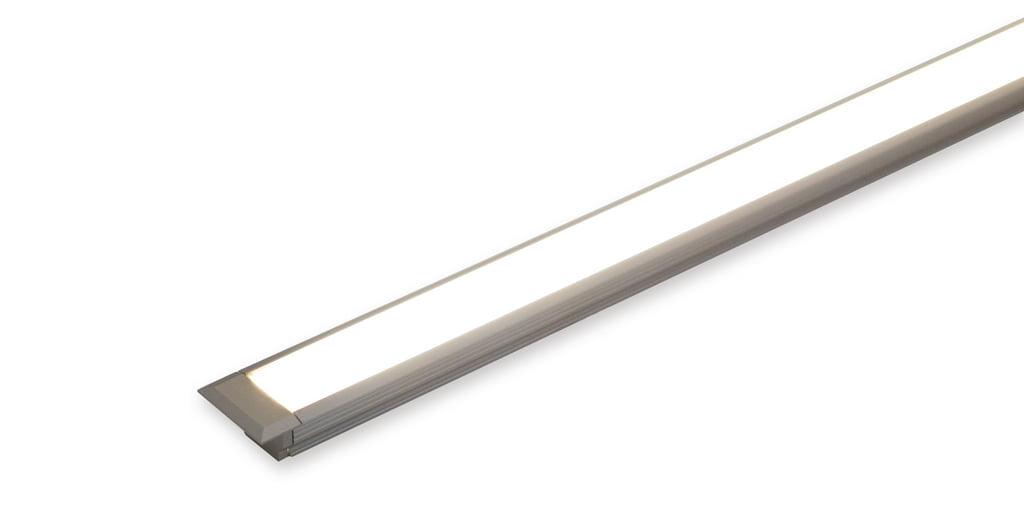 Ricol kleurwissel LED zonder schakelaar, Inbouwspot, L 1000 mm, 15,5 W