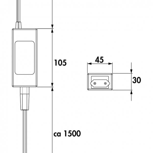 LED Converter 3., zwart