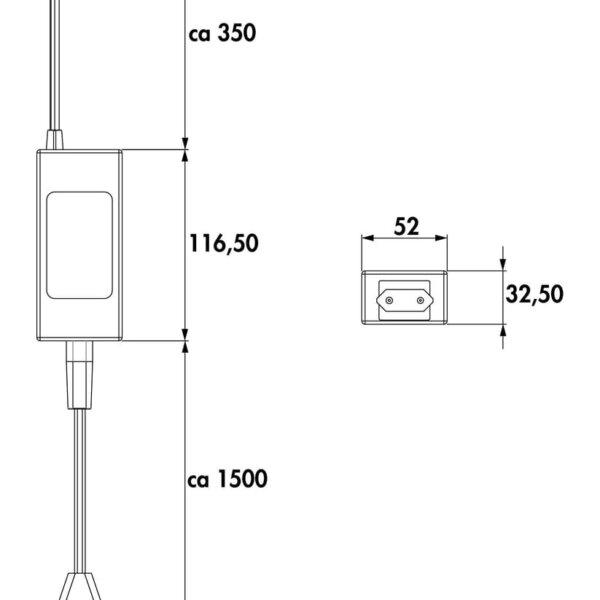 LED Converter 5., zwart