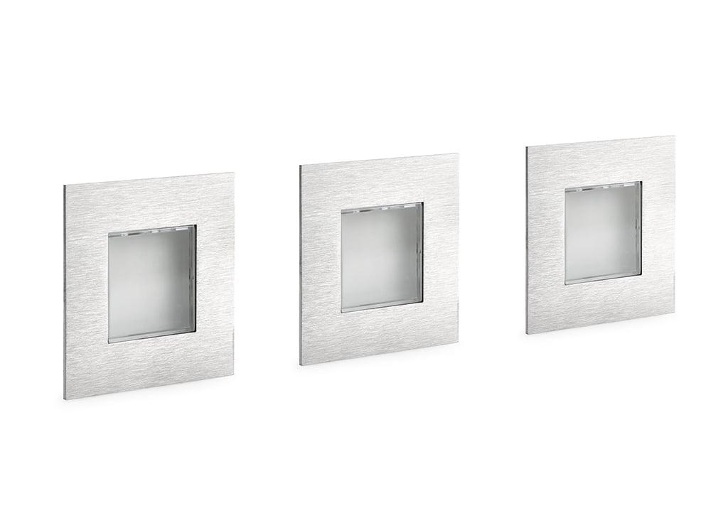 Cosi kleurwissel LED, Inbouwspot, set-3