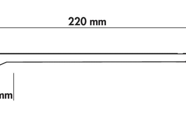 Addy LED, Langveldlamp., L 800 mm, 11,7 W