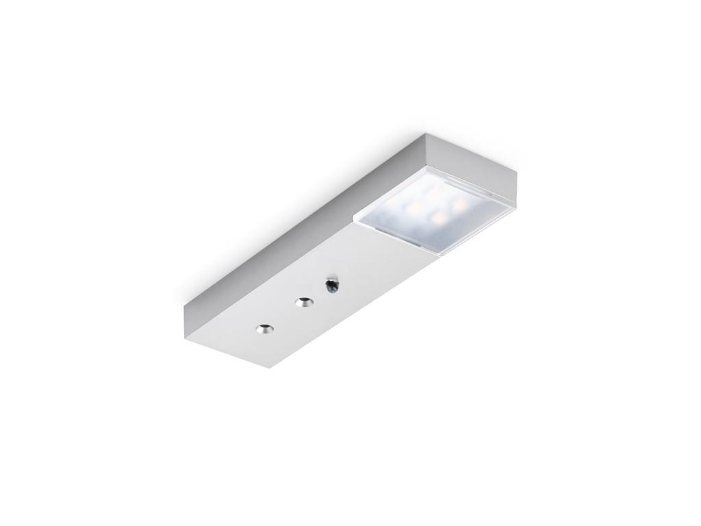 Trave II LED, Onderbouw-/nislamp, Afzonderlijke lamp met Touch LED schakelaar en dimmer