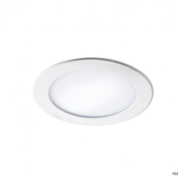 Plana LED, Inbouwspot, zilverkleurig
