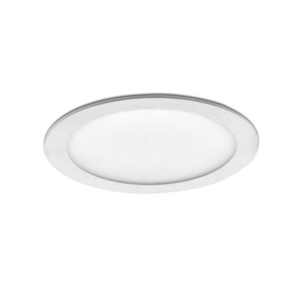 Plana XL LED, Inbouwspot, zilverkleurig