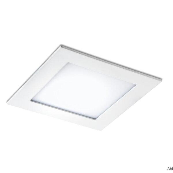Palladio LED, Inbouwspot, zilverkleurig