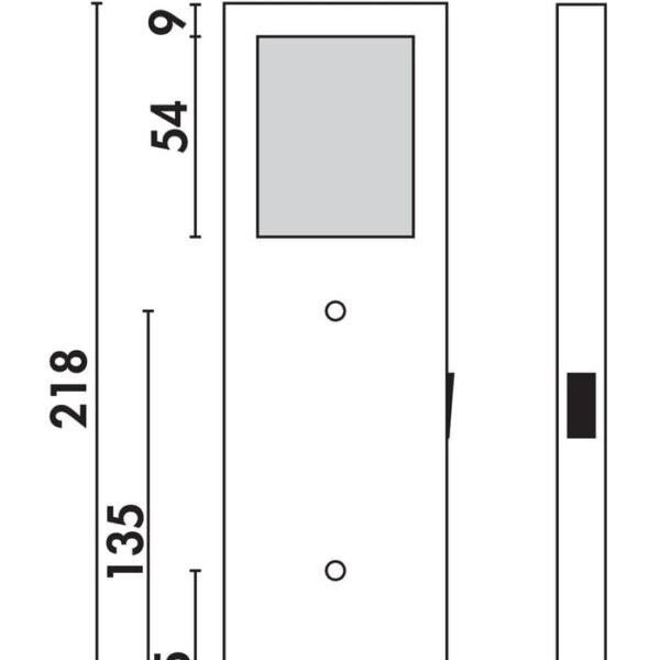 Six LED, Onderbouw-/nislamp., Set-3