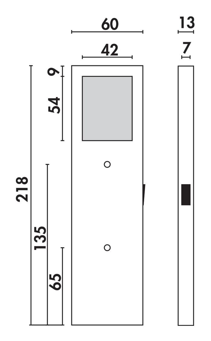 Six LED, Onderbouw-/nislamp., Set-5