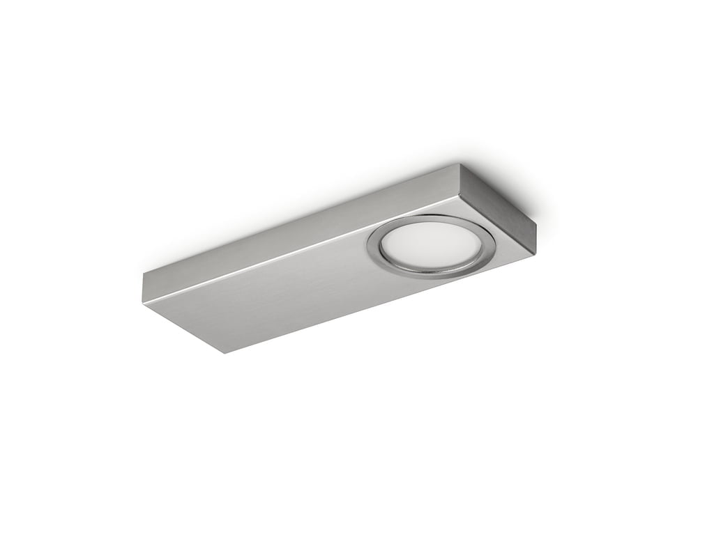 Rea 1 LED, Onderbouw-/nislamp, Afzonderlijke lamp zonder schakelaar, 4000 K neutraal wit