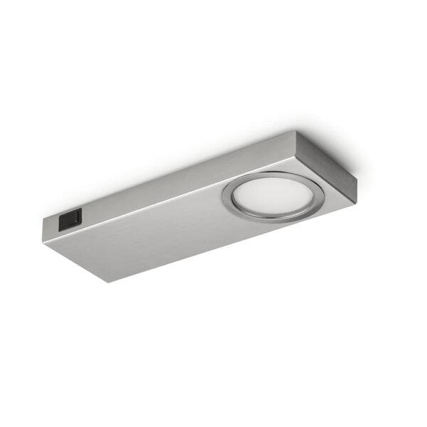 Rea 1 LED, Onderbouw-/nislamp, Afzonderlijke lamp met schakelaar, 4000 K neutraal wit