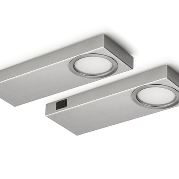 Rea 1 LED, Onderbouw-/nislamp, Set-2, 4000 K neutralweiァ