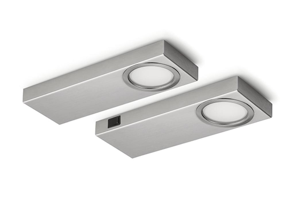 Rea 1 LED, Onderbouw-/nislamp, Set-2, 4000 K neutralweiァ