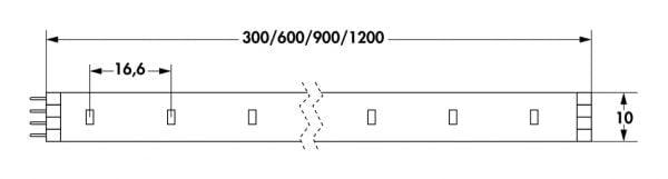 Fakto LED Flex Stripes, LED Stripe., L 600 mm, 3,0 W