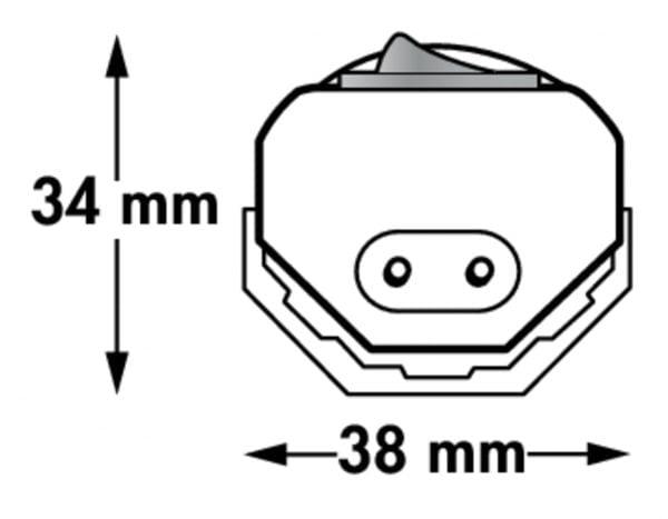 Ledges LED, Langveldlamp., L 565 mm, 10 W