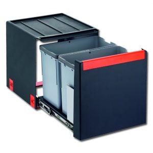 Afvalemmer FRANKE Cube 40 nr. C40 H 40 3 1x14ltr+2x7ltr
