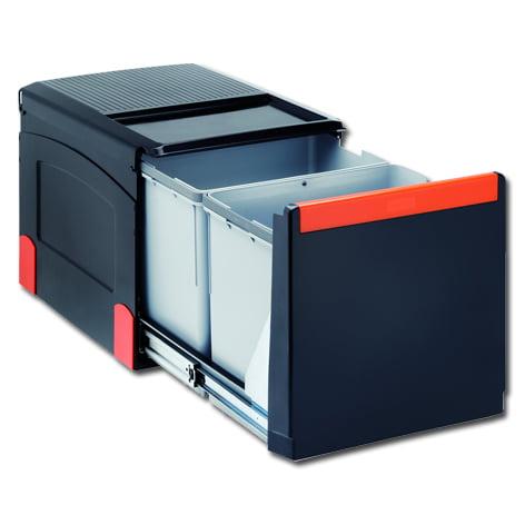 Afvalemmer FRANKE Cube 41 nr. C41 A 45 3 1x18ltr+2x8ltr