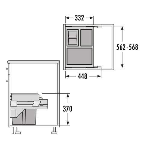 HAILO Cargo-Soft Slide 40ltr.