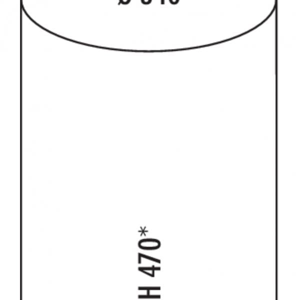 Rondo 2, Afvalverzamelsysteem voor Zwenktechniek., wit