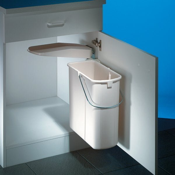 Hailo Vario 1, afvalsysteem voor deuren, wit