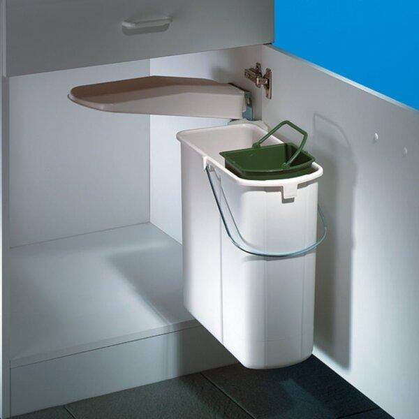 Hailo Vario 1 plus, afvalsysteem voor deuren, wit