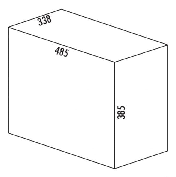 Quarta 1, Afvalverzamelsystemen voor draaideuren., alu grijs