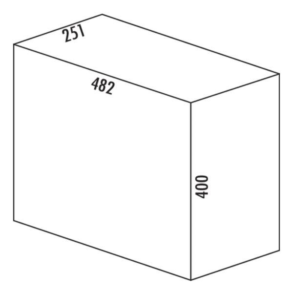 Tandem 7, Afvalverzamelsystemen voor draaideuren., grafietgrijs