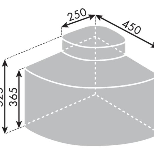 Cabbiィ 4, Afvalverzamelsysteem voor Zwenktechniek., lichtgrijs