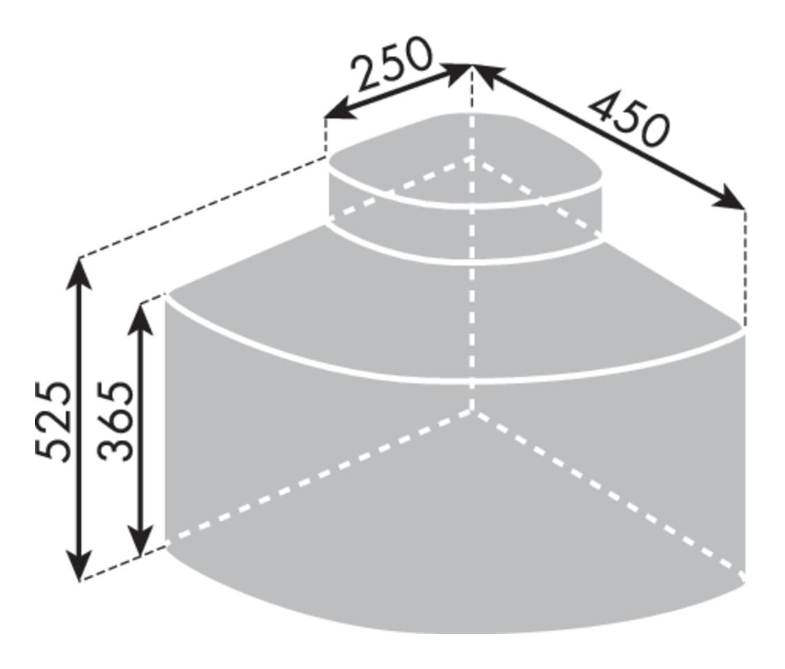 Cabbiィ 3, Afvalverzamelsysteem voor Zwenktechniek., lichtgrijs