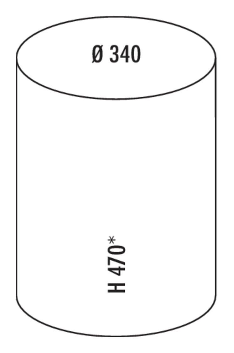 Rondo 2, Afvalverzamelsysteem voor Zwenktechniek., zilver
