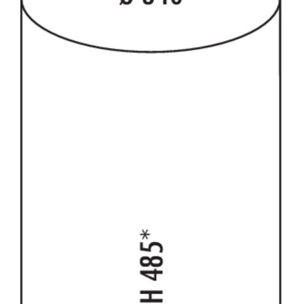 Rondo 3, Afvalverzamelsysteem voor Zwenktechniek., zilver