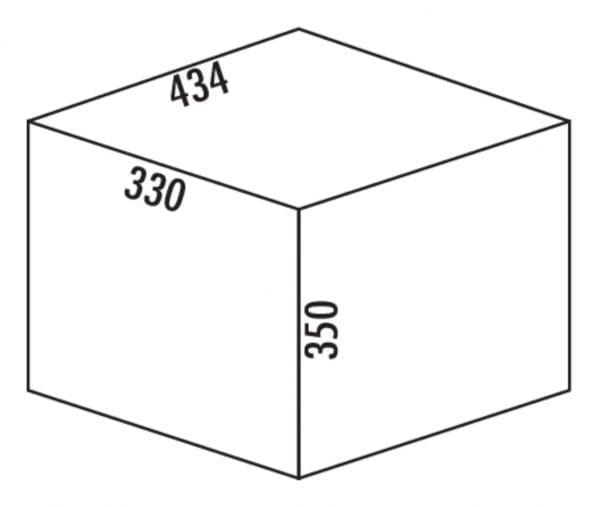 Tandem S 2, Afvalverzamelsystemen voor draaideuren., lichtgrijs