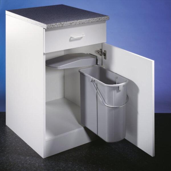 Vario 1, Afvalverzamelsysteem voor Zwenktechniek., alu grijs