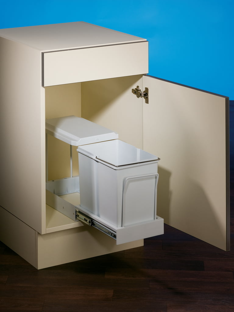 Clax® 1/300-1, Afvalsysteem voor deuren, alu grijs