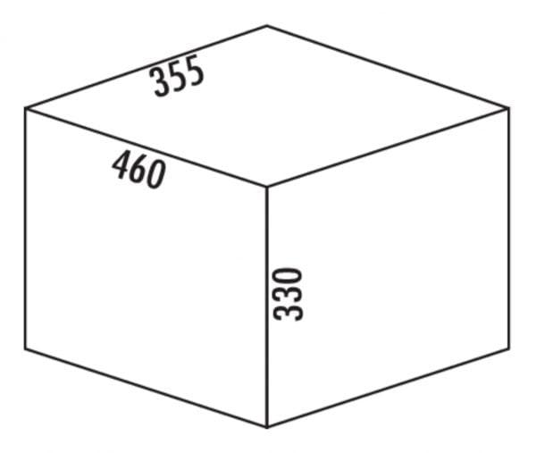 Claxィ 2/450-3, Afvalverzamelsystemen voor draaideuren., alu grijs