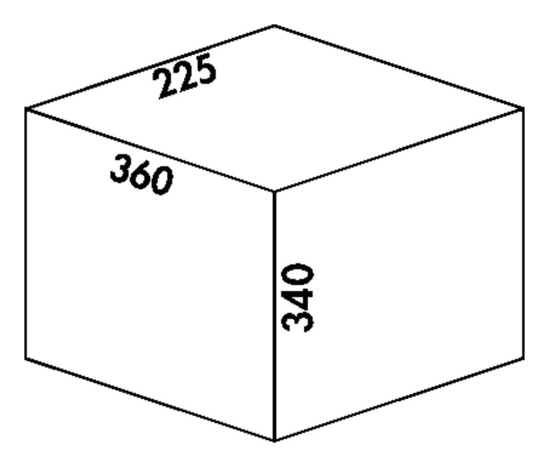Claxィ 1 plus/300-2, Afvalverzamelsystemen voor draaideuren., alu grijs