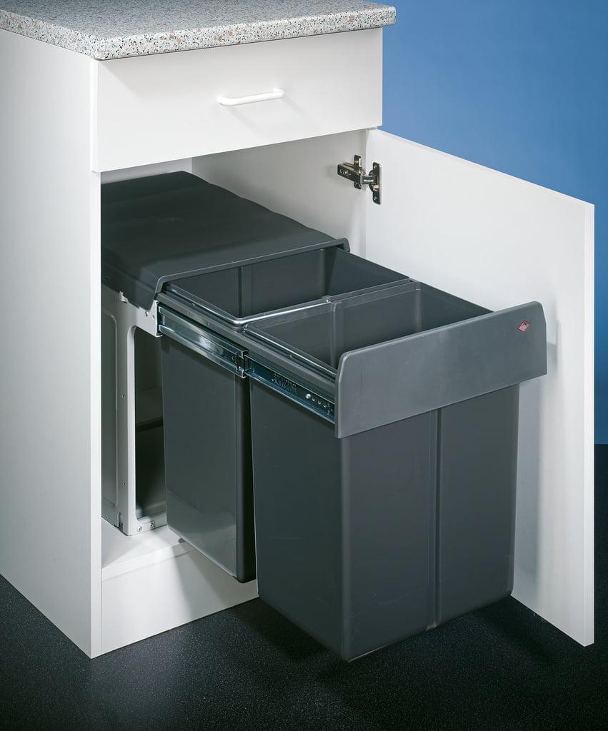 Double Master Maxi 40 DT, Afvalsysteem voor deuren, antraciet