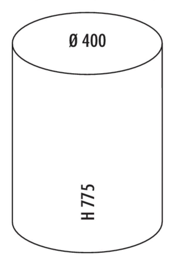 Pushboy, Afvalverzamelsysteem voor vrijstaande container., amandel