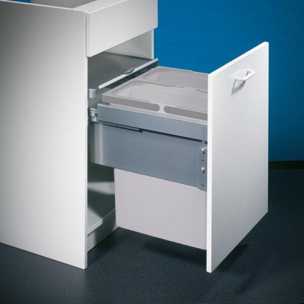 Cox® Base 460 S/450-2, afvalsysteem voor Frontuittreksysteem, lichtgrijs, H 460 mm