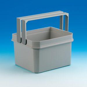 Coxィ Base Afzonderlijke emmer, Afvalverzamelsysteem voor Frontuittreksysteem., lichtgrijs