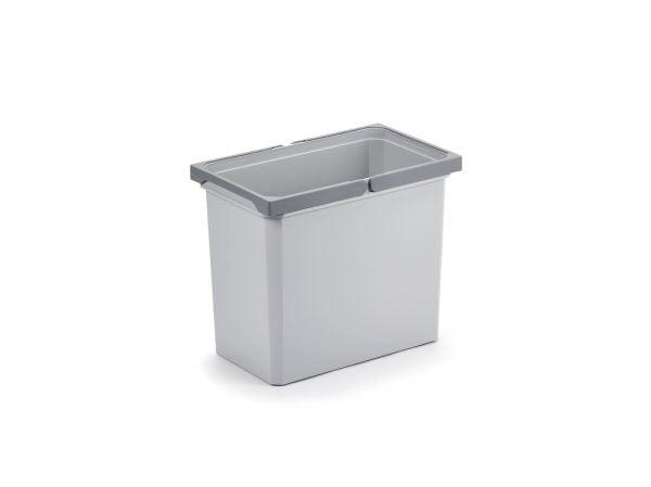 Reserve emmer., lichtgrijs, 22 liter