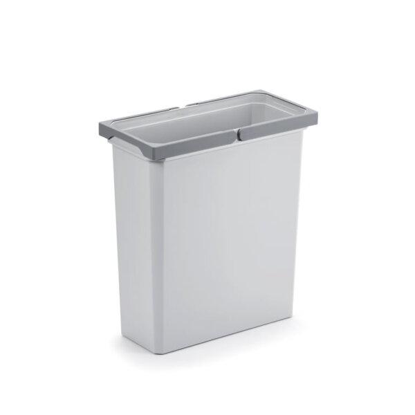 Reserve emmer, Afvalverzamelsysteem voor Frontuittreksysteem., lichtgrijs, 21 liter
