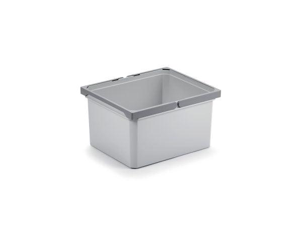 Reserve emmer., lichtgrijs, 18 liter