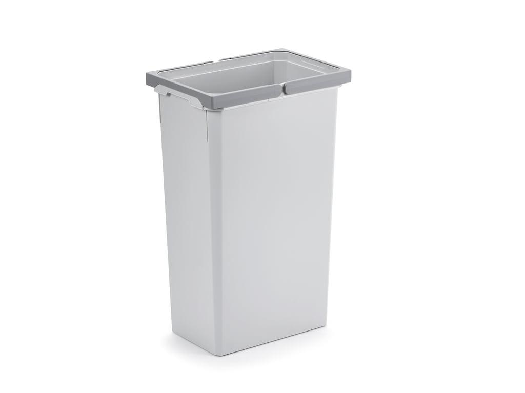 Reserve emmer, Afvalverzamelsysteem voor Frontuittreksysteem., lichtgrijs, 32 Liter