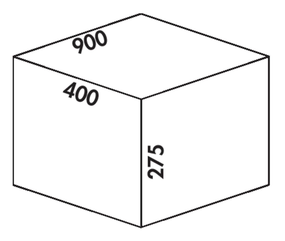 Coxィ Box 275 S/900-4 Bio, Afvalverzamelsysteem voor voorhanden uittreksystemen., lichtgrijs
