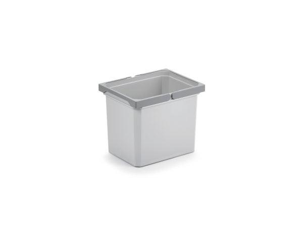 Reserve emmer., lichtgrijs, 12 liter