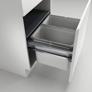 Cox Castィ 600-2, Afvalverzamelsysteem voor voorhande kozijnen., lichtgrijs , H 360 mm
